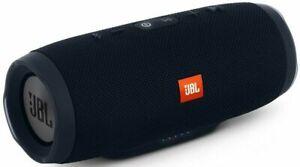 JBL Charge 3 Waterproof Portable Bluetooth Speaker - Black Color w Hard Case