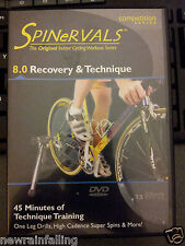 SPINERVALS 8.0 RECOVERY & TECHNIQUE  CYCLING DVD WORKOUT FITNESS  WW Shipping