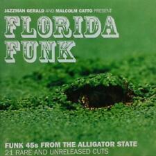 Florida Funk CD Jazzman Rare Unreleased Funk 45s