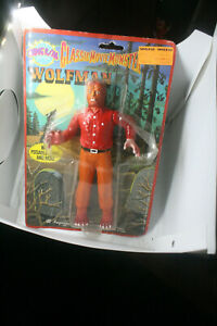 """Classic Movie Monster 7.5"""" The Wolfman Imperial 1986 MoC Vintage"""