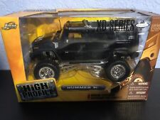 H2 Hummer 1:24 Scale Jada High Profile XD Series Working Suspension