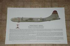 B-29, Battlin Beauty, Aviation Art Print, Ernie Boyette