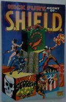 NICK FURY Agent of Shield Who is SCORPIO TPB Steranko Graphic Novel 2000