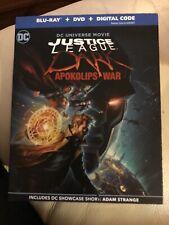 Justice League Dark: Apokolips War (Blu-ray, Dvd, Digital, Slipcover, New Sealed