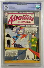 ADVENTURE COMICS #269 CBCS 7.5 Superboy 1960 Last Green Arrow Intro Aqualad