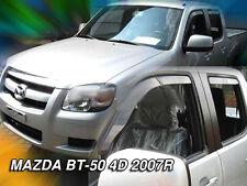 DMA23140 Mazda BT -50 4 puertas 2007-2011 viento desviadores 4pc Heko Teñido