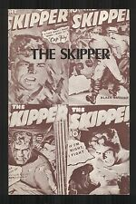 The Skipper: Breathless Island by Wallace Brooker, 1937, reprinted pulp classic