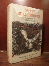 Storia Deportati Guerra, Notte sull'Europa 1963 Present. P. Levi copert. Guttuso