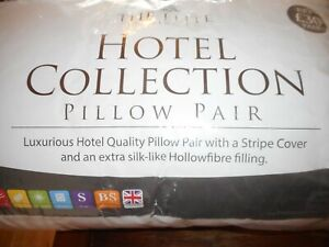Pillows x 2 Luxurious Hotel Quality R.R.P. £30.00 BRAND NEW