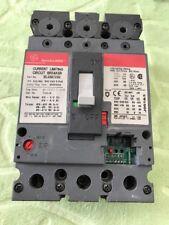 GENERAL ELECTRIC SELA 3 pole 100 amp 600v SELA36AT0100 CIRCUIT BREAKER
