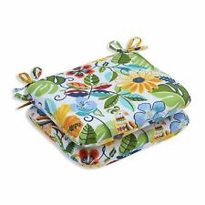 Pillow Perfect Outdoor/Indoor Lensing Garden Seat Cushion Set Of 2