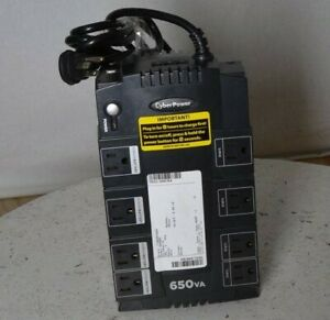 CyberPower SE450G SX650G 8 Outlet Battery Backup UPS 650VA SEE NOTES