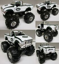 New York Jets 2002 Ford F-350 Monster Truck Metal Die Cast Scale 1:32 No Box