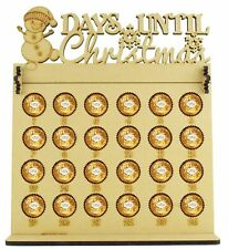 Ferrero Rocher & Lindt Chocolate Balls Advent Calendar with Days Until Christmas