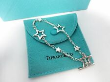 Tiffany & Co. Sterling Silver Star Lariat Toggle Bracelet 7.5""