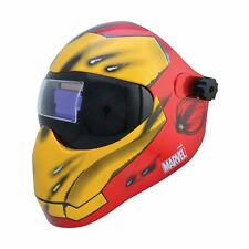 Save Phace Auto Darkening Welding Helmet Iron Man Graphics Model Number 30