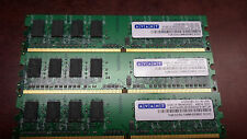 Avant avf6428u61e6800f9-mtjp 1gb ddr2 dimm 800mhz  LOT OF THREE