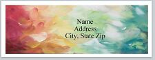 Personalized Address Labels Colorful Abstract Buy 3 get 1 free (P 552)