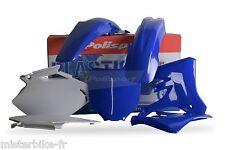 KIT PLASTIQUES POLISPORT YAMAHA YZ250F YZ450F 2003-2005 Couleur Origine Bleu