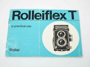 Rolleiflex T instruction Book