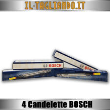 4 Candelette Lancia Ypsilon Y e Musa 1.3 Multijet - JTD 51-55-66-70-77 KW BOSCH