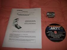 ULTIMATE ARCTIC THUNDER UPGRADE KIT, DONGLE SOFTWARE CD ARTIC 120 DAY WARRANTY