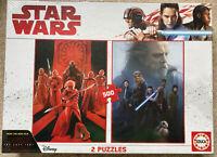 Star Wars The Last Jesi Disney Educa Puzzle Jigsaw 2 Puzzles 500 Pcs