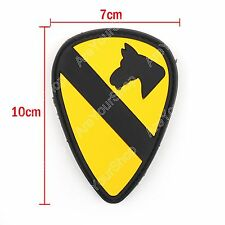 First Team Us Army Parche 3D 1St Cavalry Division Bdu Insignia Hook Loop Patch