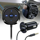 3.5mm BT to Aux  Bluetooth Wireless Stereo Audio Receiver Adapter USB Charger