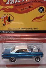 (F) Hot Wheels RLC '66 Super Nova GASSER Rewards Blown Chevy Drag