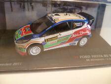 FORD FIESTA RS WRC M. HIRVONEN  RALLY SU�ˆDE 2011 altaya ixo 1/43
