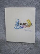 FINAL FANTASY X 10 Postcard Book Art Illustration PS2 2001 DC35*