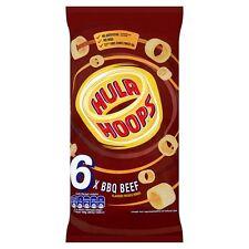 Hula Hoops barbacoa de res 6 X 24g-se vende en todo el mundo desde UK