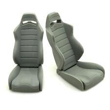 2PCS Gray Rubber Seats Chair For 1/10 RC Axial Wraith 90018 Rock Crawler Car