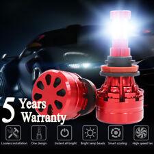 H11 H9 H8 1500W 225000LM LED Fog Light Conversion Kit Bulbs 6000K VS HID 35W 55W