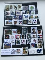 US, 50 used stamps, on paper, very fine, all different, see photos