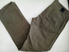 Hugo Boss Scout1 Hose Jeans W34 L34 braun dünner Sommerstoff Glencheck