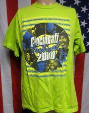 CINCINNATI FESTIVAL lrg T shirt Gerald LeVert & Boney James 2000 tee Erykah Badu