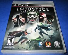 Injustice: Gods Among Us Sony PlayStation 3 *Factory Sealed! *Free Shipping!