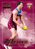✺New✺ 2020 BRISBANE LIONS AFL Card ALEX WITHERDEN Dominance