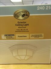 Hampton Bay Exterior Ceiling Light 11.5 Inches wide 5 Inches High