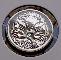 2007 Australia Five 5 Cent Specimen Coin - Ex Mint Set Choice Uncirculated