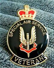 Brand New Military Special Air Service SAS Veteran Enamel Pin Badge , Poppies ..