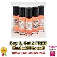 10ml Desire Type MEN 1/3 oz Body Oil Pure UNCUT Perfume Fragrance Body Oil