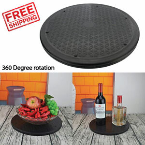 Lazy Susan Turntable Rotating Display Stand Heavy Duty Steel Ball Bearing Tier