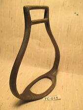 Ancient Solid Bronze ANTIQUE Hand Forged Horse Riding Saddle Stirrup