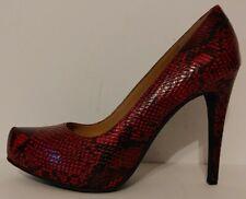 """NEW!! Jessica Simpson Parisah Red Pumps 4.5""""  Heels Size 8.5M US 38.5M EUR"""