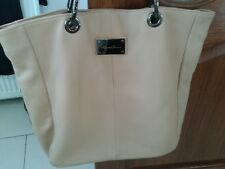 Kenneth Cole from New York Leather Beige Bag - pre-owned
