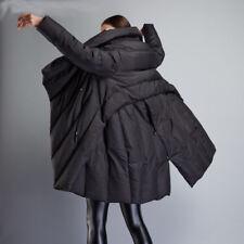 Damen Mantel Daunenmantel Parka Coat Wintermantel Bodenlang Modern Warm Mantel