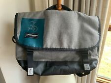 Timbuk2 gray messenger bag with tricycle accents